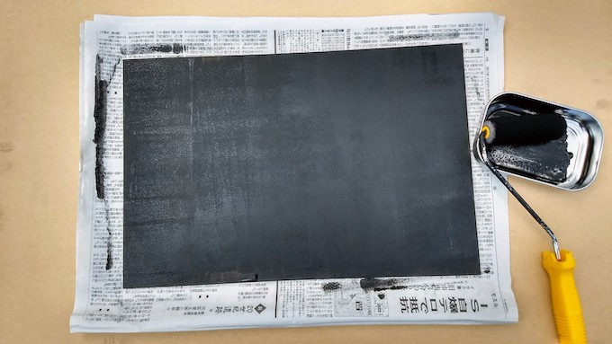 チョークアートの黒板