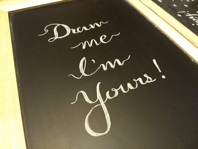 チョークアートレタリングおしゃれな文字を書く7つのコツまとめ