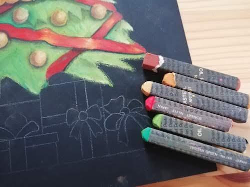 クリスマスプレゼントの色