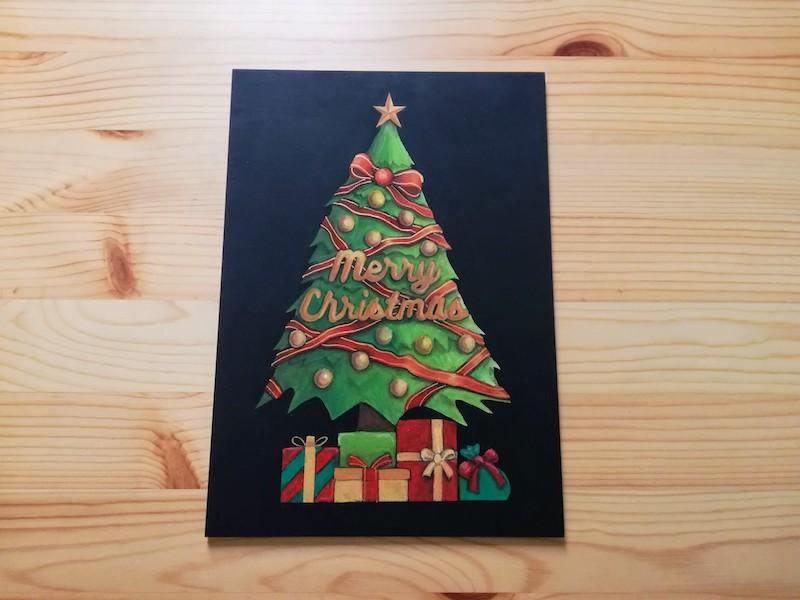 クリスマスツリーの完成