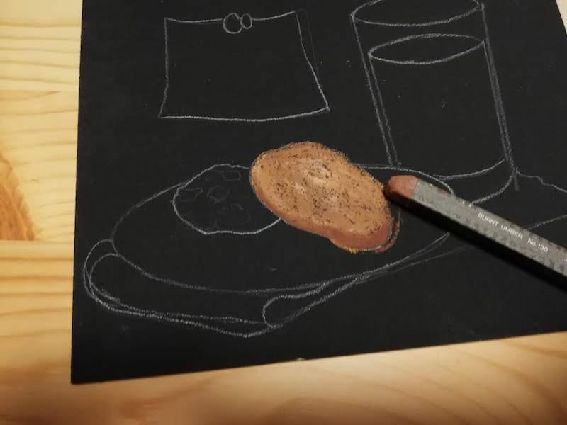 クッキーの色の調整